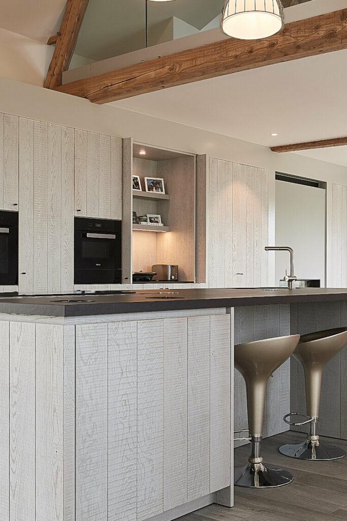 Keuken in Zottegem, maatwerk van ontwerp tot afwerking - ACK Keukens