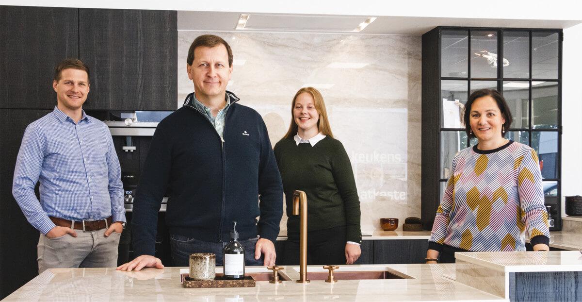 Keukenbouwer in Gent, twee generaties vakmanschap - ACK Keukens