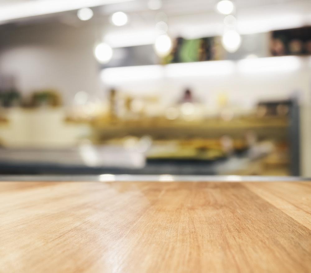 Keukenwerkblad in licht hout - ACK Keukens