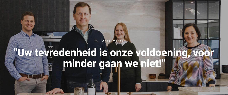 Team van keukenbouwers in Zottegem - ACK Keukens